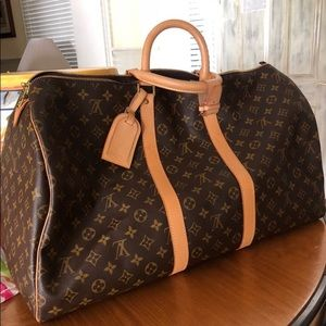 Keepall 50 Monogram Canvas